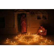 DEEPAVALI ,THE CELEBRATION WITH LIGHT IN RURAL LIFE.
