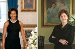 Melania Trump framed – a history of first lady portraits