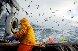 Fishing-Work: Photographer being an Alaskan Crab Fisherman in the Bering Strait