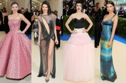 Looks from the 2017 Met Gala Red Carpet
