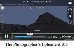 The Photographer's Emphemeris will launch a 3D app for iOS on June 27