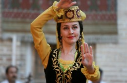 Traditional Costumes of Uzbek People