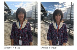HDR is enabled by default on the iPhone 8 Plus, and that's a really good thing