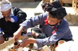 Tea culture in Deang people's daily life