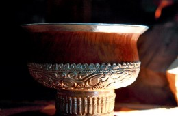 Glaring Wooden Bowls Culture of Monba People
