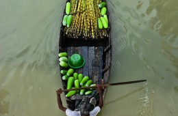 Floating Market: Natural Trading on the Boat