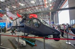 Helicopter expo opens in Tianjin, China