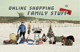 Online Shopping Family Stuff