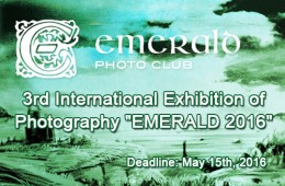 3rd International Exhibition of Photography